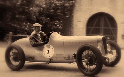 Oldtimer Classic Sprint Sepia