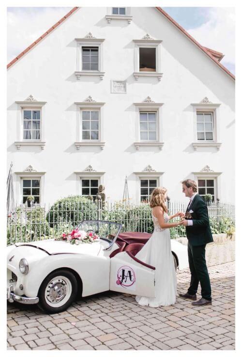 Hochzeitsauto Cabrio