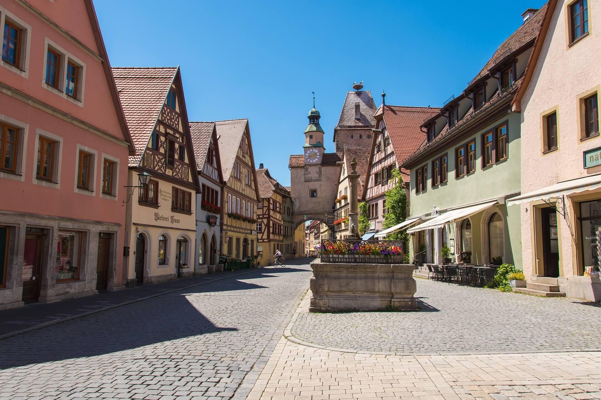Rothenburg ob der Tauber Innenstadt